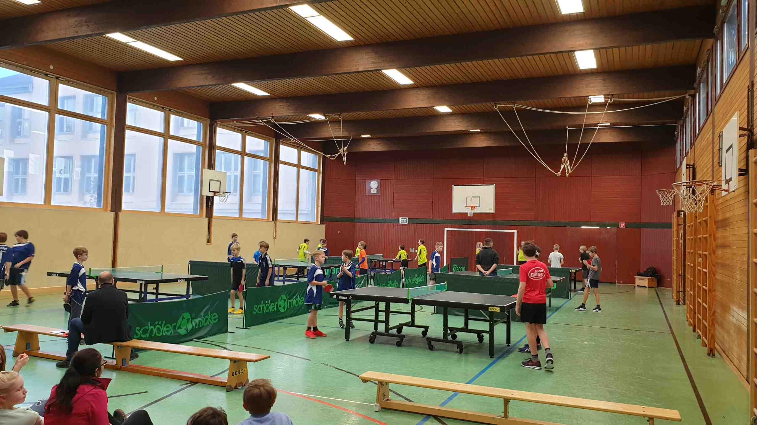 Stadtschulmeisterschaft im Tischtennis