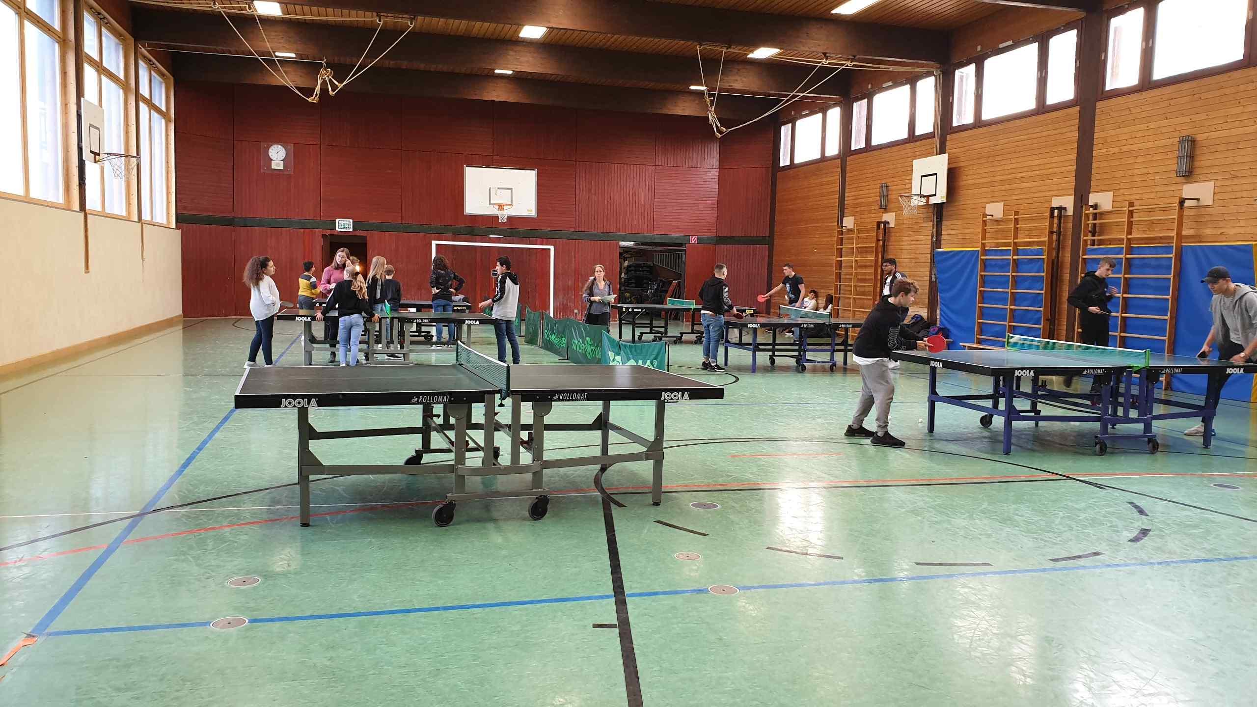Tischtennisturnier 10.10.2019