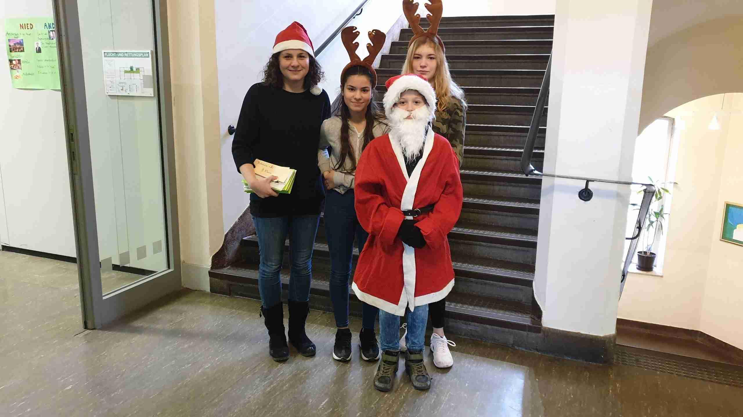 Letzter Schultag vor den Weihnachtsferien