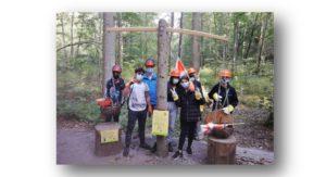 Wir berichten von unserem Waldprojekt