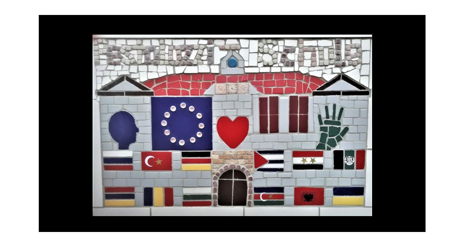 Mosaikprojekt an der Pestalozzi-Mittelschule